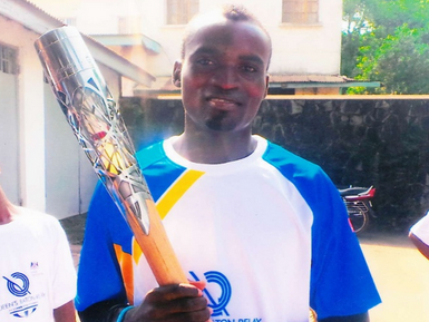 Internet takes break from spreading misinformation about Ebola to help Sierra Leone athlete.