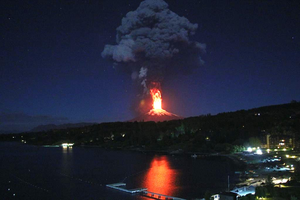 Chilean volcano erupts, demands virgin sacrifice.