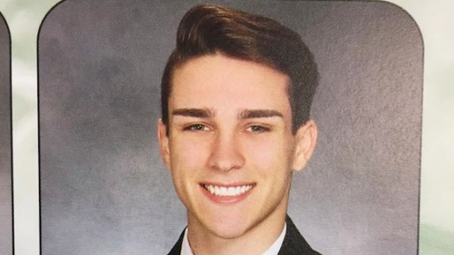 Teenager comes out of the closet in his senior yearbook quote, Internet applauds him.