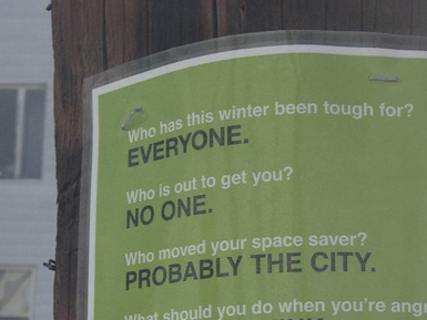 This winter is making us all insane, but these fantastic signs are trying to take the edge off.