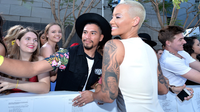Amber Rose responds to slut-shaming by suggesting a parade. Everyone loves a parade!