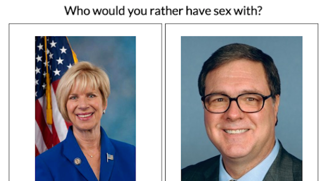 """If you waste time on just one website tonight (besides ours), make it """"Sexy Congress."""""""