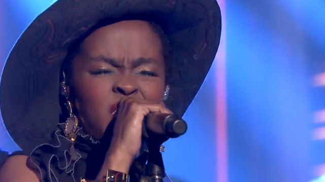 """Lauryn Hill covered Nina Simone on """"The Tonight Show,"""" everyone else doing covers can sit down."""