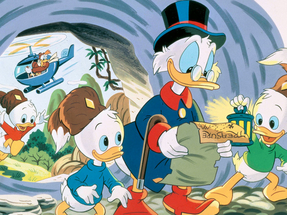 """Ducktales"" is returning to make wearing a shirt and no pants relevant again."