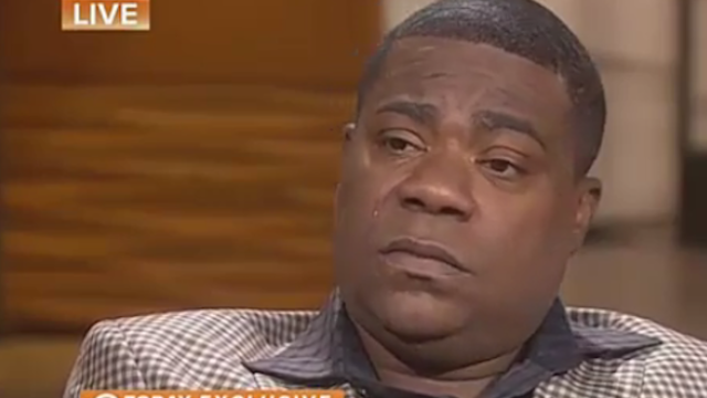 I cried watching Tracy Morgan give his first interview since his nearly fatal car accident one year ago.