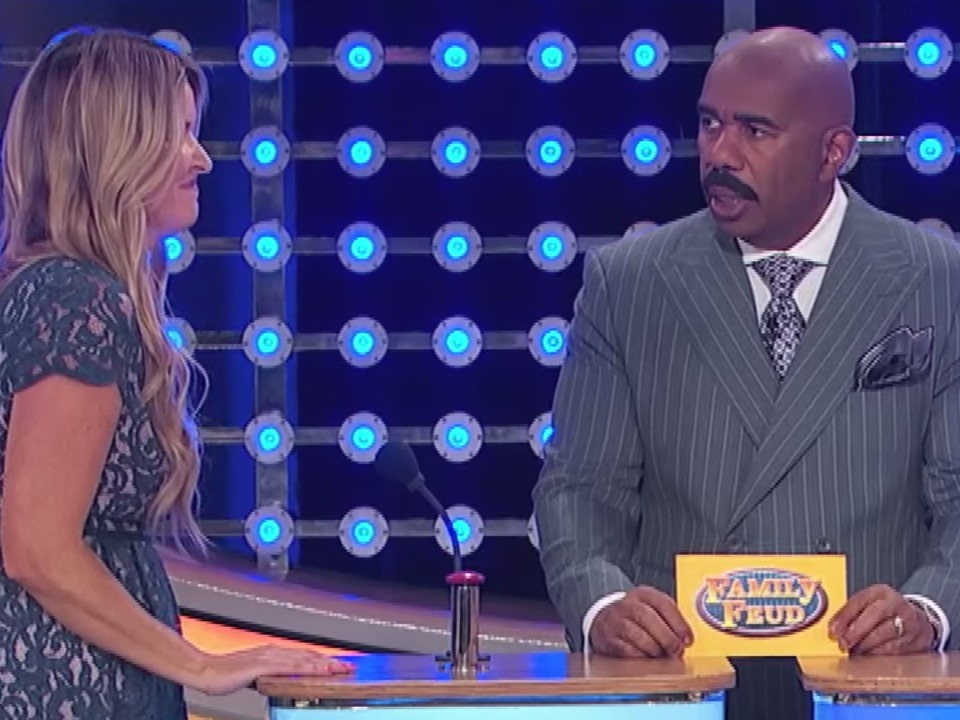 Family Feud contestant has frightening guess for what a doctor would pull out of a person.