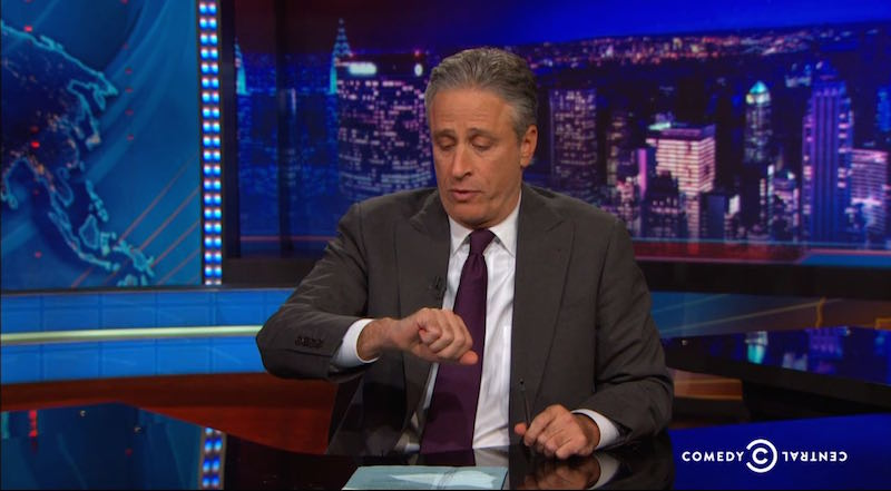 Jon Stewart heard about the Eric Garner verdict right before taping yesterday, and he did the best he could.