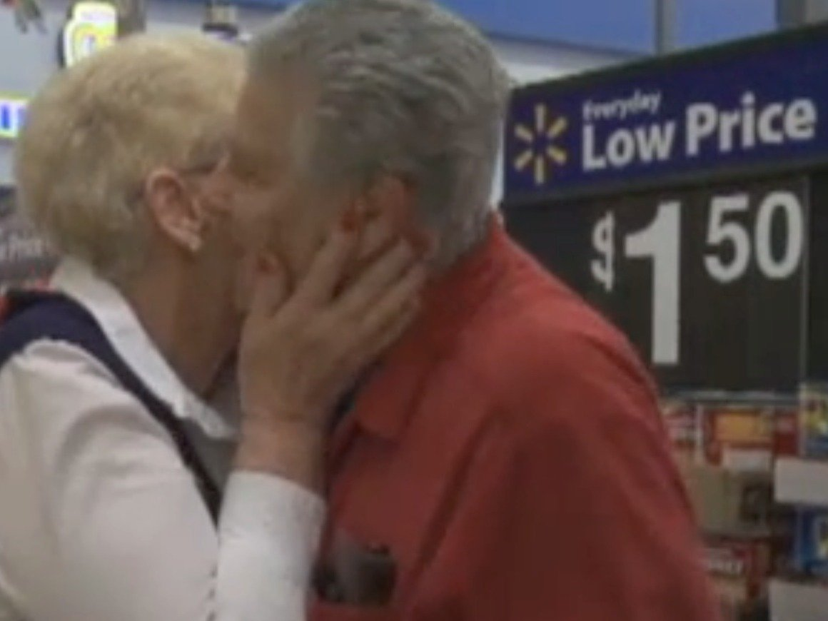 This man proposing to his ex-wife of 43 years is the most romantic thing that ever happened in a Walmart.