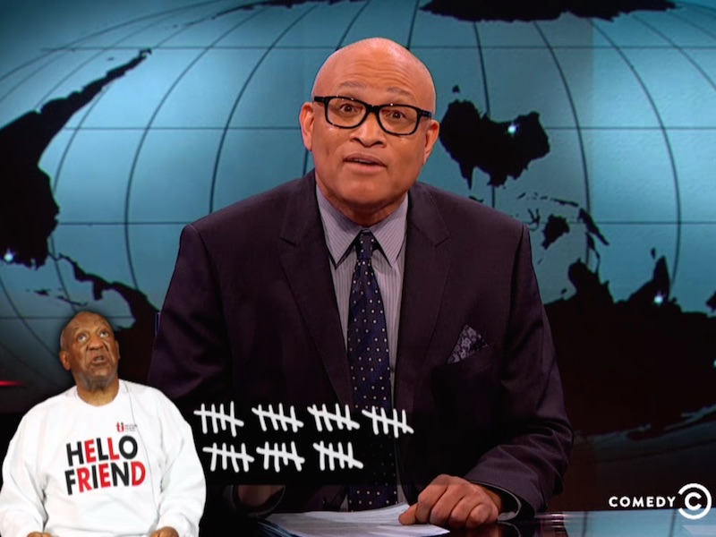 Larry Wilmore eviscerates Bill Cosby and anyone who has trouble believing 35 women.
