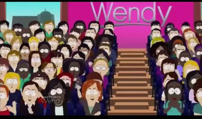 Wendy Williams might not have watched her South Park parody before showing it to her audience.