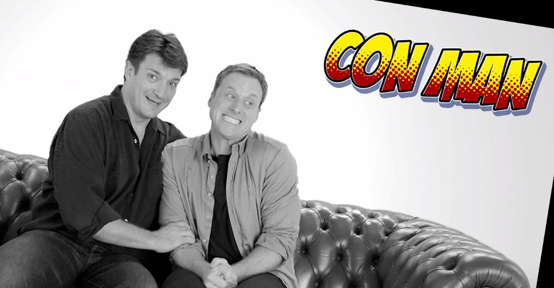 """Firefly"" fans rejoice: Alan Tudyk and Nathan Fillion are making their own series about Sci-Fi conventions."