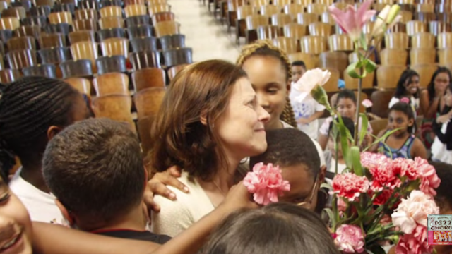 Want to cry like a baby? Watch students sing to their teacher, recently diagnosed with breast cancer.