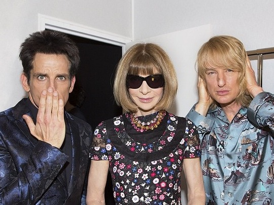 Zoolander and Hansel walked the runway at Paris Fashion Week, possibly for 'Zoolander' sequel.