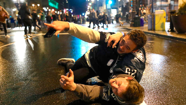10 stupid things Eagles fans did after their team won the Super Bowl.
