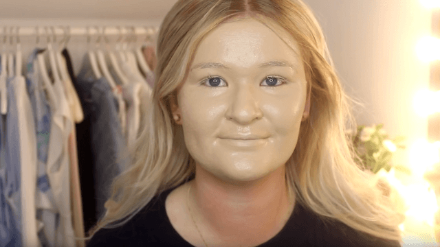 Watch this YouTuber put on and then take off 100 layers of foundation.