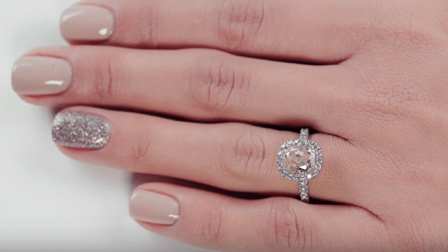 Video shows 100 years of engagement rings so you have an excuse to stare at engagement rings.