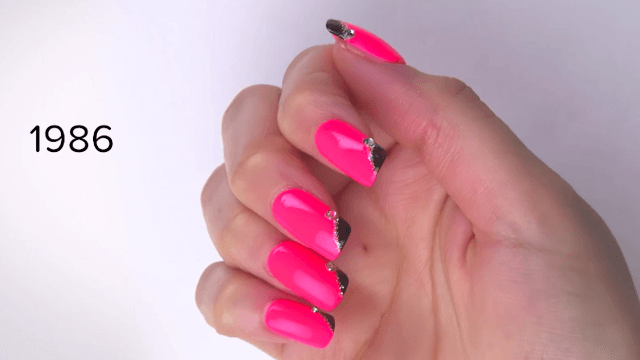Seeing all the nail art trends of the last 100 years will make you want to run to the salon immediately.