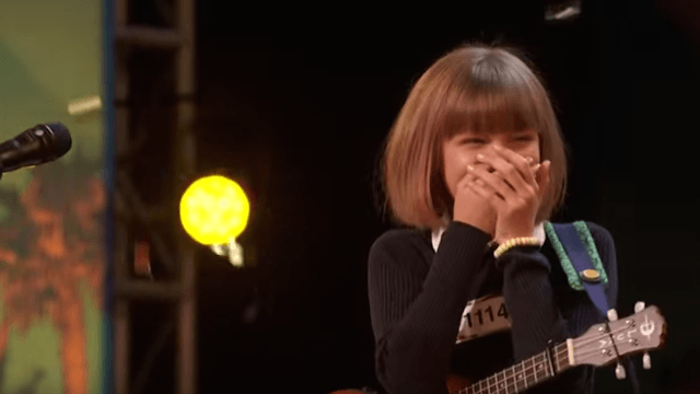 Simon Cowell called this 12-year-old ukulele player the 'next Taylor Swift.'