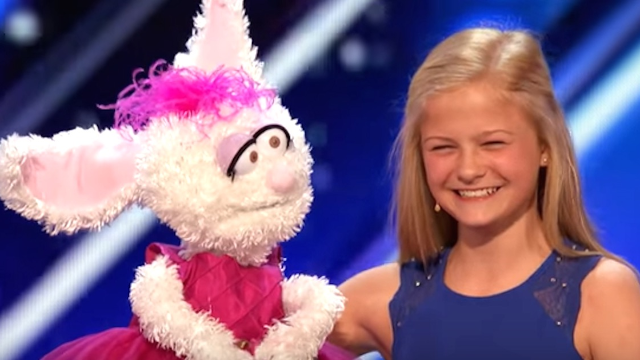 This 12-year-old ventriloquist gave a jaw-dropping performance on 'America's Got Talent.'