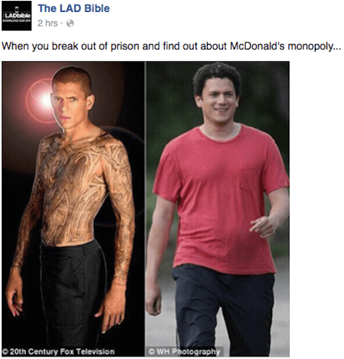 120725681713822728830662156327031729391964n kJRTcI wentworth miller responded to a cruel internet meme that uses of a