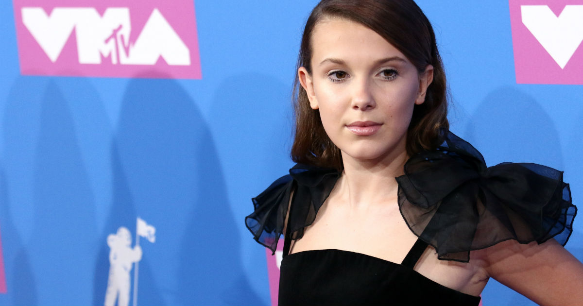 14-year-old Millie Bobby Brown defended a TV stalker and people have opinions.