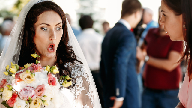 15 stories of the worst wedding guests of all time. Don't invite your in-laws.