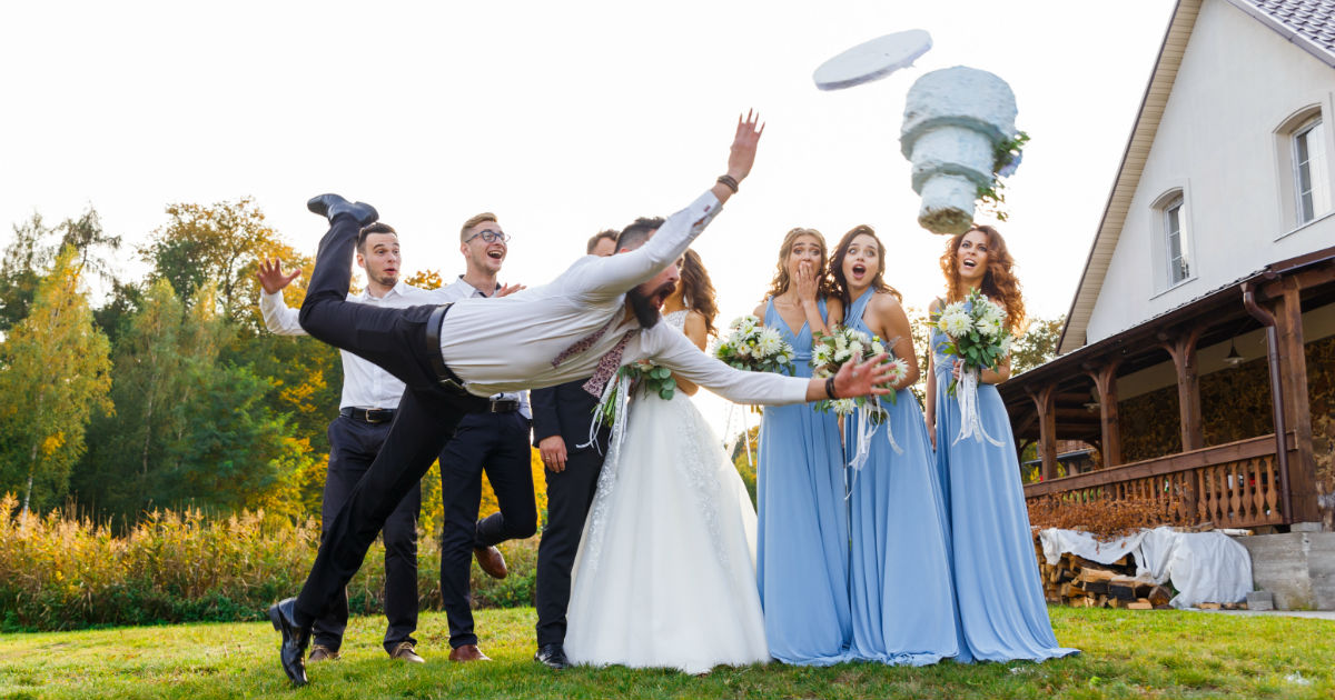16 people share the trashiest wedding they've ever been to. Money can't buy class.