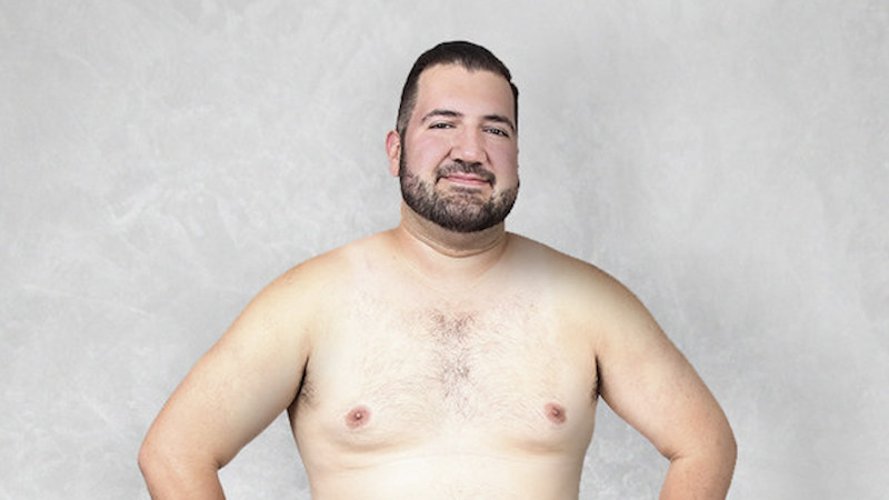 People all over the world photoshopped this dude to their ideal body. Egypt loves a six-pack.