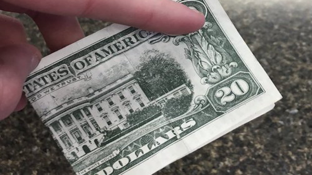 Waiter pissed to find out $20 tip was actually a prank of biblical proportions.