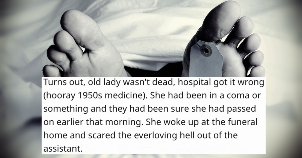 20 morticians share the most bizarre things that happened on the job.