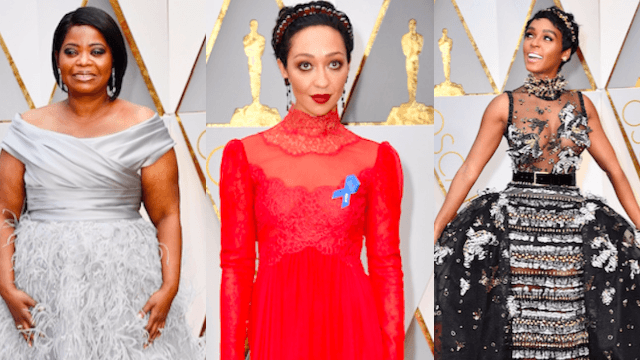 The best dressed celebrities at the 2017 Oscars.