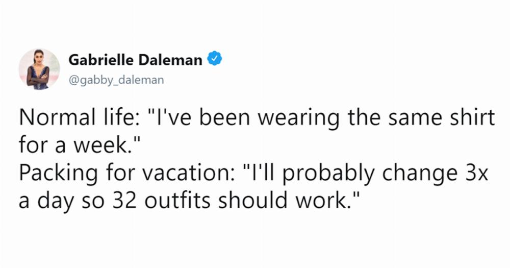 vacation needs