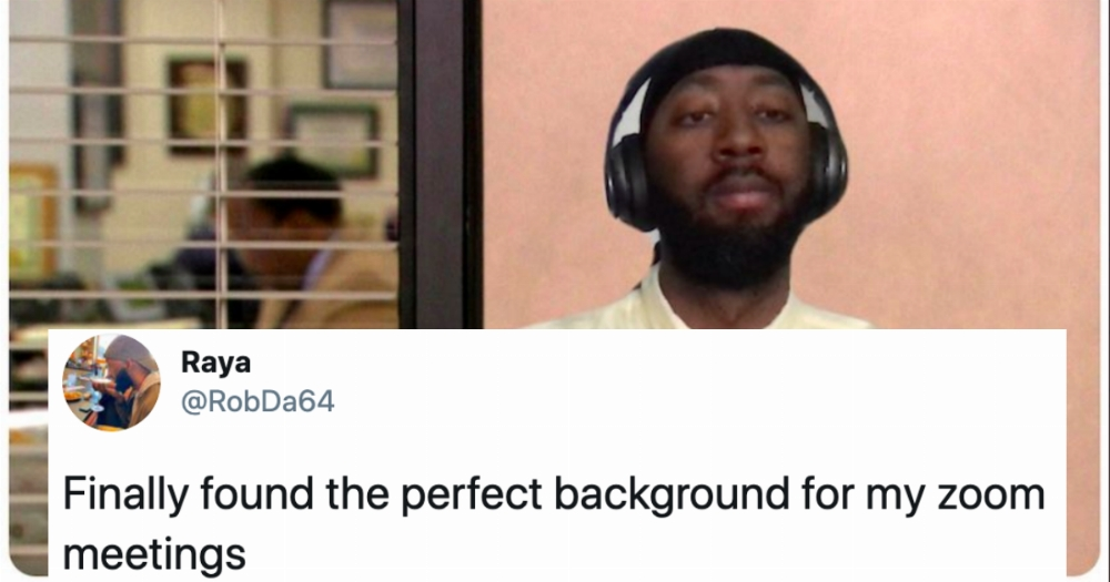 23 Of The Funniest Zoom Backgrounds People Have Used To Liven Up