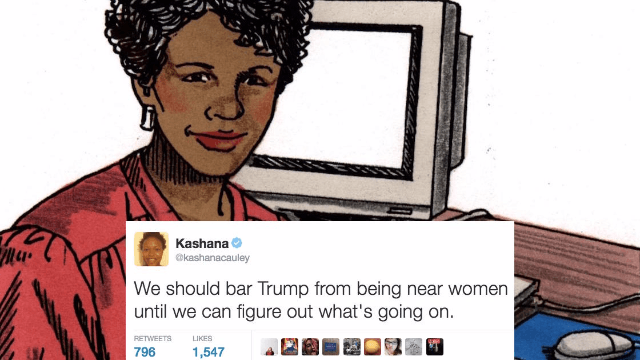 25 of the funniest women on Twitter this week: mosquitoes, bartenders, Trump and more.
