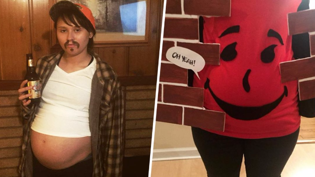 25 Pregnant Women Who Totally Win At Halloween