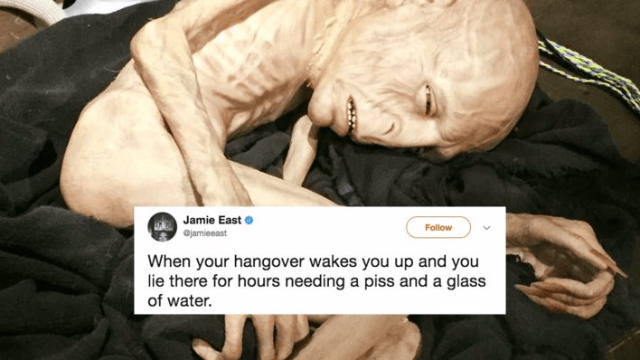 25 Tweets That Truly Understand How Awful Your Hangover Is