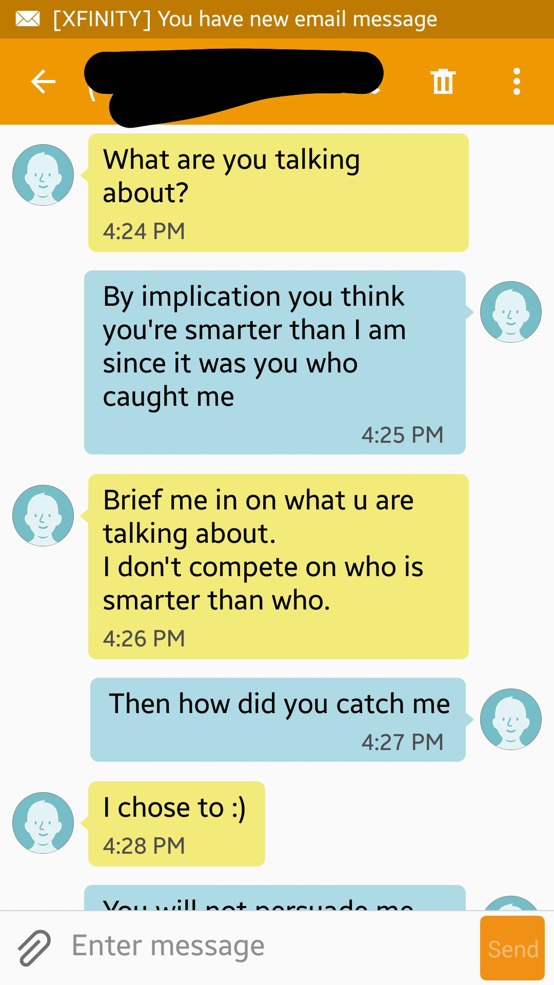 Woman gives thirsty dude her brother's number. Brother trolls dude with Hannibal Lecter quotes.