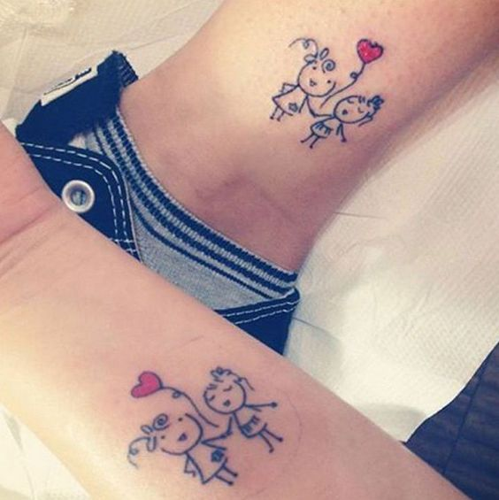 21 Tattoos You\'re Going To Want To Get With Your Sister | Someecards ...
