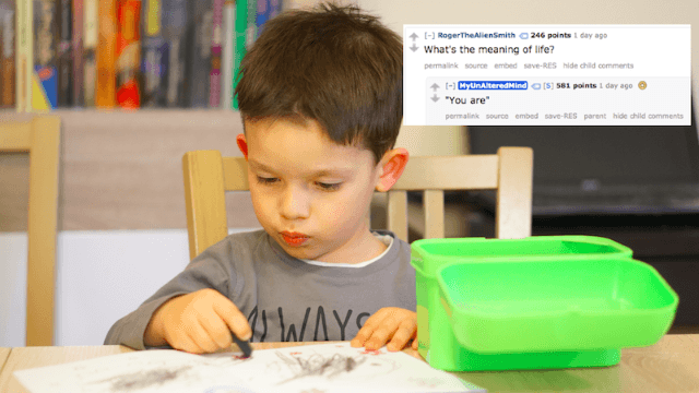 A 3-year-old who knows everything answered the internet's burning questions, and we learned a lot.