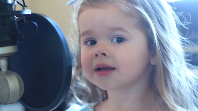 Let's hope no one steals the voice of this 3-year-old singing 'Part of Your World.'