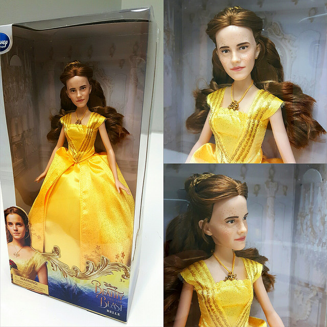 Emma Watson's 'Beauty and the Beast' doll looks terrifyingly like Justin Bieber.
