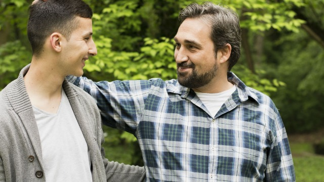 35-year-old asks if he's wrong to tell mom's 27-year-old boyfriend to stop trying to be his 'dad.'