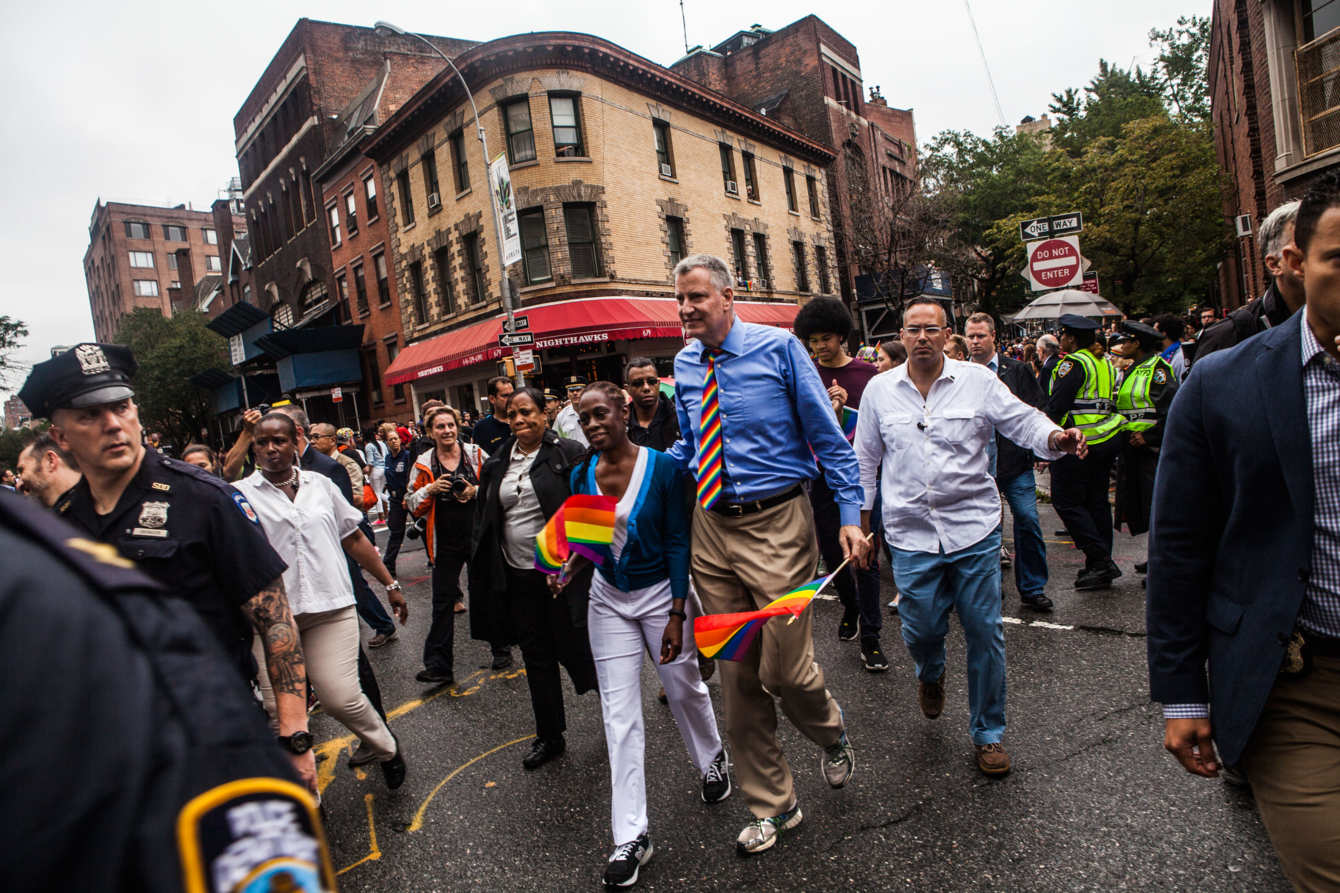 The most inspiring pictures from NYC Pride 2015.