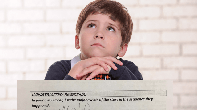 This third-grader's breakdown of 'The Boy Who Cried Wolf' is hilariously elegant.