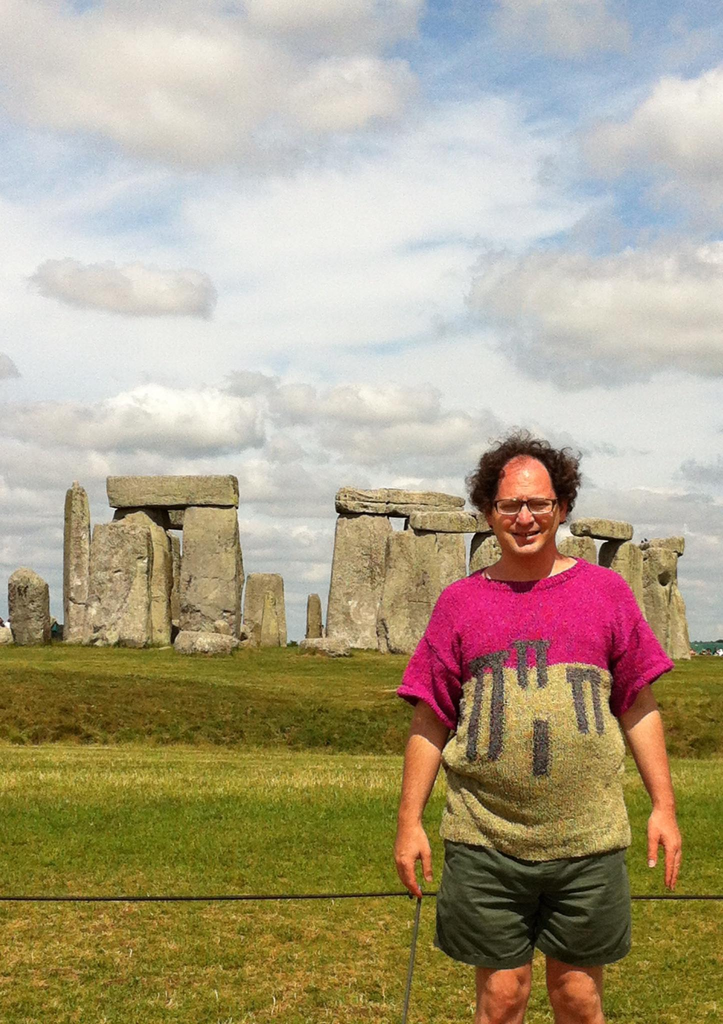 Sweaterhenge: the 8th wonder of the world.