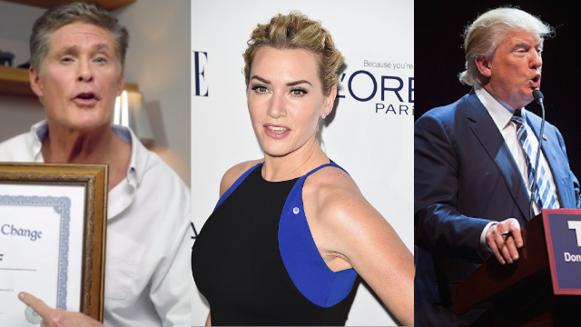 5 ridiculous things said by famous people this week.