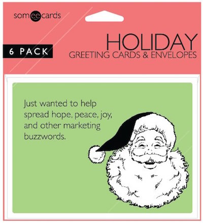 The Complete 2015 Holiday Gift Guide Of Only Someecards Merchandise