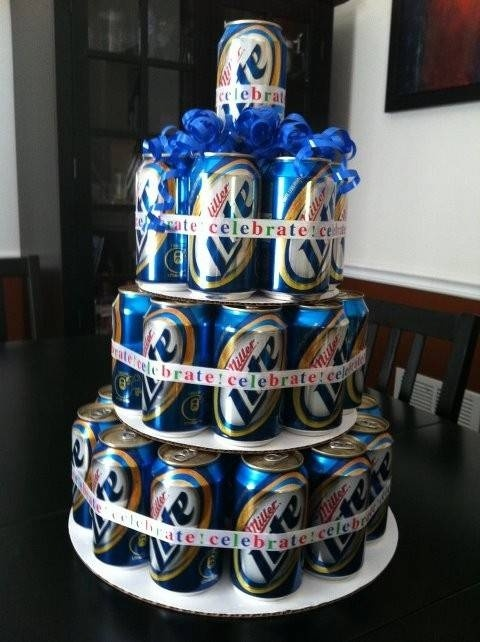 Wedding Cakes That Even More Terrifying Than The Concept Of - Beer Can Wedding Cake