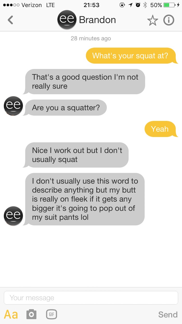 My brother and his 3 guy friends talked to men on Bumble for me. Sounds weird? It was.
