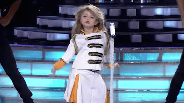 No one knows if this 7-year-old Taylor Swift impersonator is creepy or better than the original.